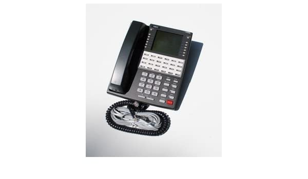 NEC 34 Button Super Display Telephone 80673 DS1000 DS2000 Tested by NEC Tech