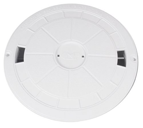 Swimming Pool Skimmer Deck Lid Cover White Hayward Swim-Quip Sta-Rite U3 - Cover Skimmer Lid Pool