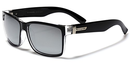Square Retro 80's Sunglasses - Designer Uk Glasses Cheap