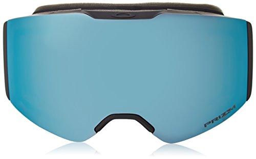 Oakley Fall Line Snow Goggles, Matte Black Frame, Prizm Sapphire Lens, Medium