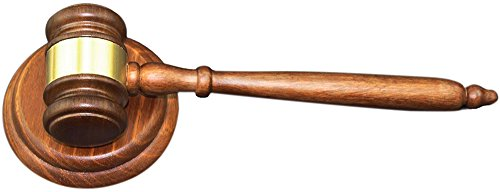 Wooden Gavel (Apexstone Wooden Gavel and Block for Lawyer Judge Auction Sale)