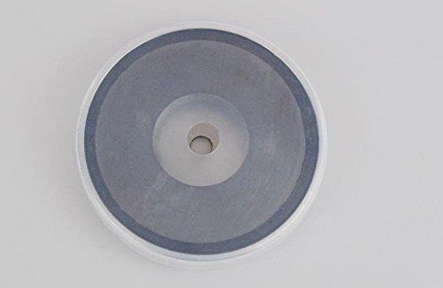 Silikonh/ülle 81 x 10 mm bis 43 kg mit Chromblende Starker Magnet Set aus Rundmagnet