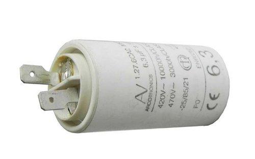 Sauter Capacitator 6 3 181 F 470v 1 27 6ca2 Mkp 72 X 8290