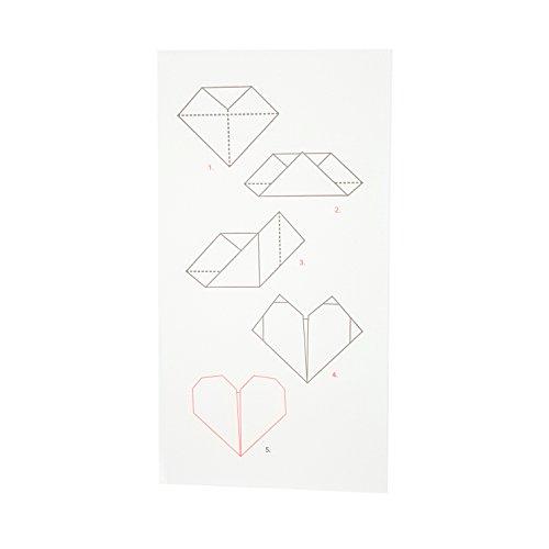 Origami Heart Card - 8