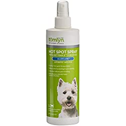 Tomlyn Hot Spot Spray with Bittran II for Dogs, (Allercaine) 12 oz