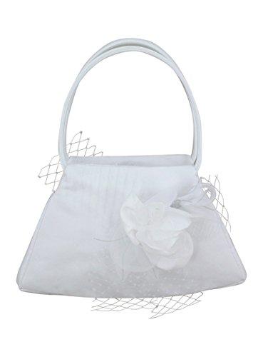 Boutique-Magique Sac Mariage Fleur Anse Blanc