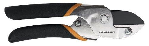"Price comparison product image Fiskars 91105935J 5 / 8"" Power-Lever® Anvil Pruner With Non-Stik Blade"