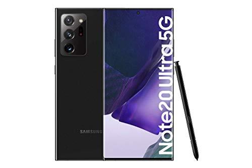 Samsung Galaxy Note20 Ultra 5G Smartphone Android Libre de 6.9″ 256GB, Negro (Mystic Black) [Versión española]