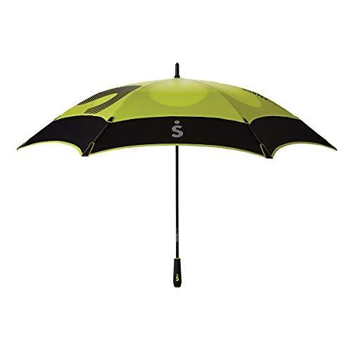 ShedRain Vortex Vent Pro Golf Umbrella: Black and Kiwi