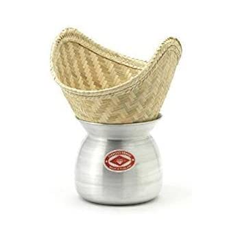 Amazon Com Thai Sticky Rice Steamer Basket Only