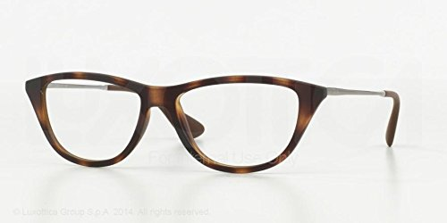 Ray Ban RX RX7042 Eyeglasses-5365 Rubber Havana-54mm by Ray-Ban
