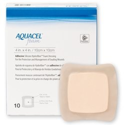 Foam Dressing Aquacel® 6 X 6 Inch--5EA/BX CONVATEC