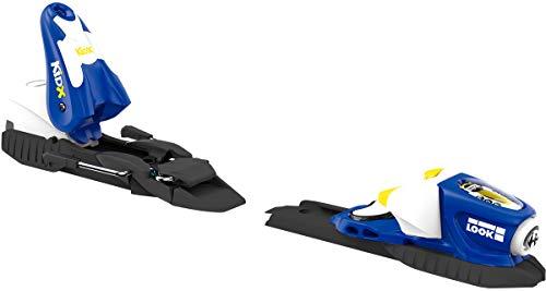 Look Kid-X 4 Ski Bindings Blue/Yellow Kid's Sz 76mm
