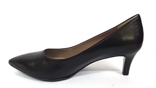 D5107 NERO Scarpa donna décolleté tacco 50 Melluso made in Italy pelle