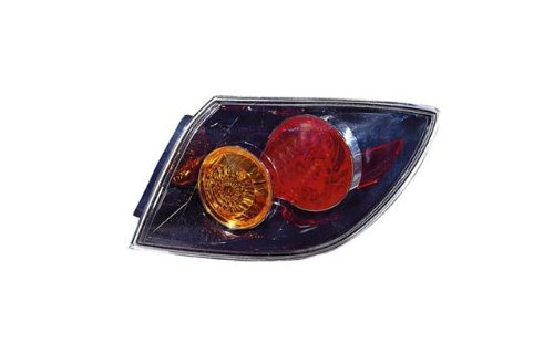 Mazda 3 Hatchback Replacement Tail Light Unit (non-LED Type) - Passenger Side