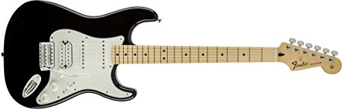 Fender Standard Stratocaster Electric Guitar - HSS - Maple Fingerboard,