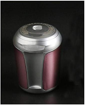 ユニバーサル灰皿付きカー灰皿内側灰皿付きカバークリエイティブ灰皿人格灰皿6.5×8.5×5センチ YCHAOYUE (Color : Red)
