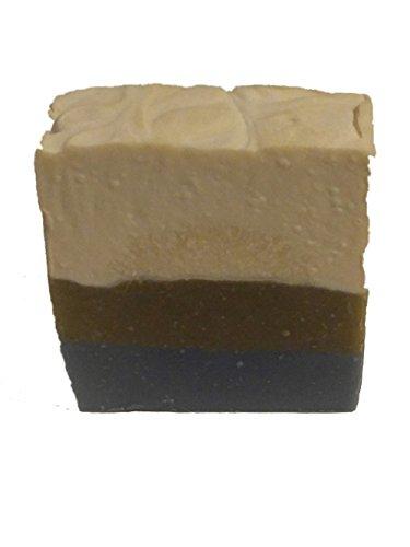 Patchouli Honey - Patchouli, Frankincense & Myrrh Homemade Bar Soap All Natural--organic oils--coconut--palm--honey--DEAD SEA MUD for face and body Cleanser Moisturizer Lather Bathe Bath