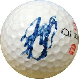 John Daly Autographed/Signed Golf Ball - Autographed Golf Balls -