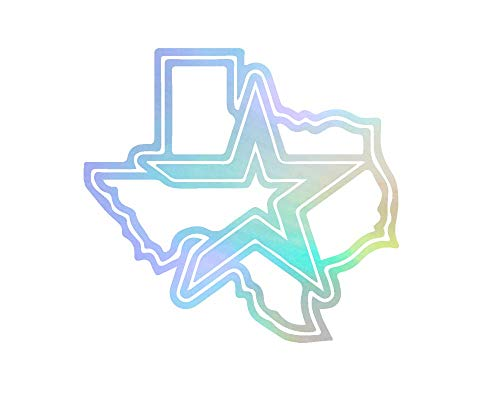 - ANGDEST Houston Astros Baseball (Hologram) (Set of 2) Premium Waterproof Vinyl Decal Stickers for Laptop Phone Accessory Helmet Car Window Bumper Mug Tuber Cup Door Wall Decoration