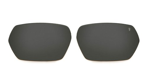 Spy Optic Quanta Scoop Series Polarized Replacement Lens Lifestyle Sunglass Accessories - Grey / One Size Fits - Sunglasses Spy Scoop