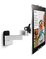 Vogel's TMS 1030 Full-motion tablet wall mount for all tablets from 7-13 inch | Swivels up to 180º (left/right) | Can be tilted up to 15º | Also fits iPad and Samsung Galaxy Tab| Black