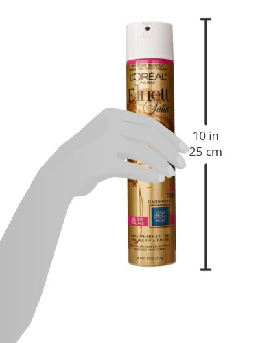 L'Oréal Paris Elnett Satin Extra Strong Hold Hairspray - All Day Volume, 11 oz.