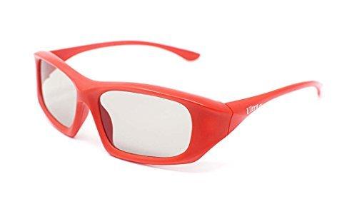 [해외]5 개의 고품질 고품질 패시브 3D 안경은 모든 패시브 3D TV와 함께 사용하기 위해 범용 스타일로 둘러 쌉니다. Cinemas and Projectors/5 Pairs of Red High Quality Passive 3D Glasses wrap around style Universal for use with all Passive 3d T...