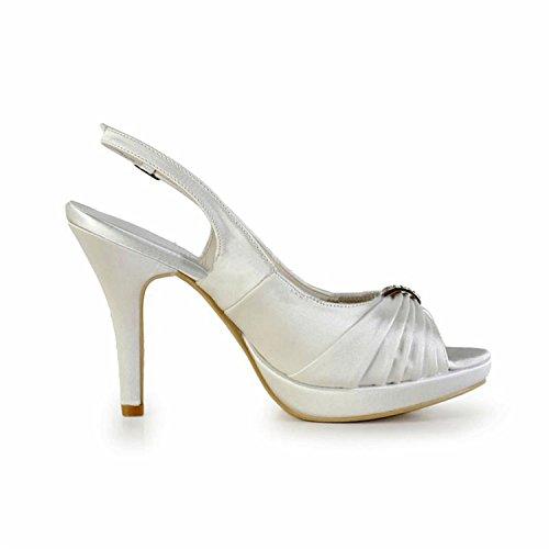 Minitoo , Escarpins pour femme - beige - Ivory-10cm Heel,
