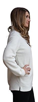 Lucky Love Women's Fleece Pullover Jacket, Half Zip Relaxed Fit, Women's & Plus Size