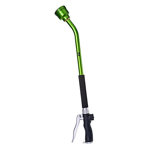 GREEN MOUNT Watering Wand, 24 Inch Sprayer Wand with Superior Stainless Head, Perfect for Hanging Baskets, Plants, Flowers, Shrubs, Garden and Lawn