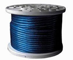 Tsunami PR904BL125, power cable - 123ft (37.5m) - 4Gauge (25mm²) - blue