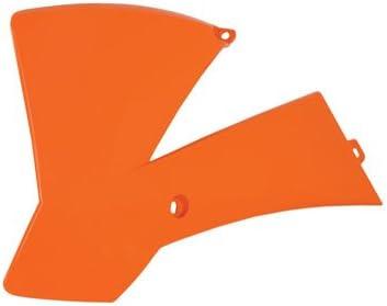 Polisport Radiator Scoops KTM Orange for KTM 65 SX 2002-2008