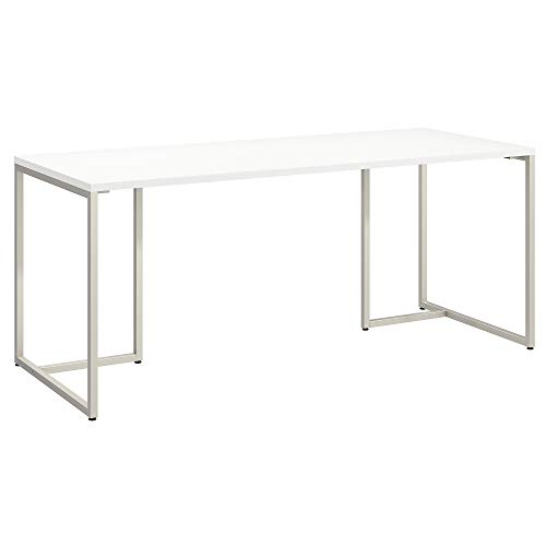Office by kathy ireland Method 72W Table Desk in White ()