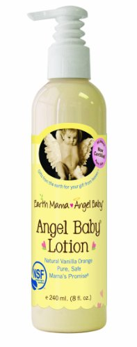 Earth Mama Angel Baby Angel Baby lotion, bouteille de 8 onces