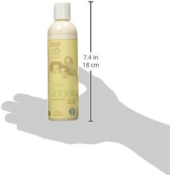 CARA B Naturally Body Lotion for Baby, and Child – Light Sensitive Skin Moisturizer Eczema-Friendly Formula Contains Shea Butter, Jojoba Oil – 8 Ounces