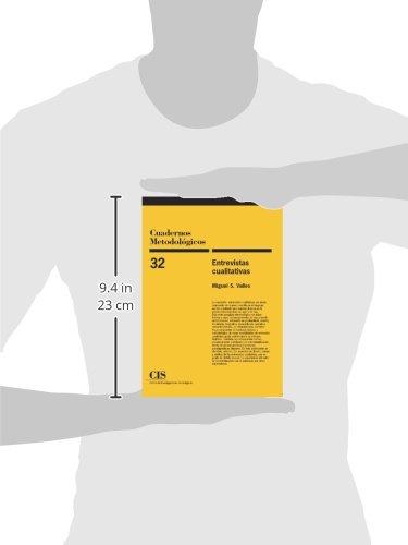 Entrevistas Cualitativas (Cuadernos Metodológicos): Amazon.es: Miguel S. Valles: Libros