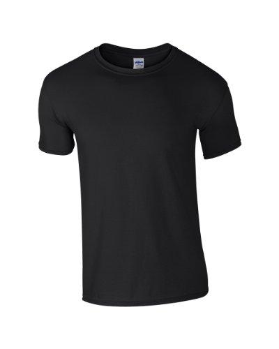 Gildan SoftstyleTM Adult Ringspun T-Shirt Black XL ()