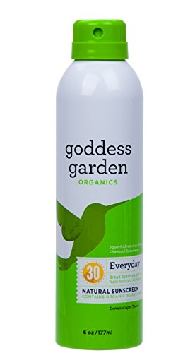 Goddess Garden Sunny Body Natural Sunscreen Continuous SPF 3