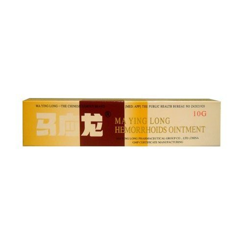 Mayinglong Musk Hemorrhoids Ointment Cream New Mega Size Package - Pack of 9 (10 Grams)