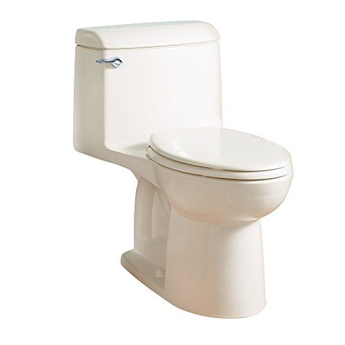 - American Standard 2034314.222 Champion-4 Right Height One-Piece Elongated Toilet, Linen
