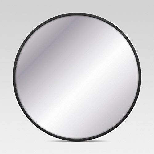 Project 62 Round Decorative Wall Mirror (Black, 18)