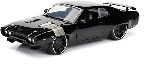 Jada Toys Fast & Furious 8 Diecast Dom's Plymouth GTX Vehicle (1:24 Scale) (Car Hummer Model)