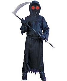Grim Reaper Fade In/Out Unknown Phantom Costume, Child (Really Scary Horror Halloween Costumes)