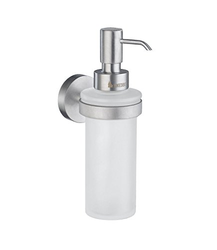 - Smedbo SME HS369 Soap Dispenser Wallmount, Brushed Chrome,