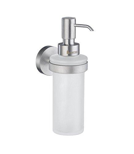 Smedbo SME HS369 Soap Dispenser Wallmount, Brushed Chrome,
