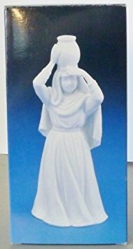 Avon Nativity Collectibles - Woman with Water Jar Porcelain Figurine