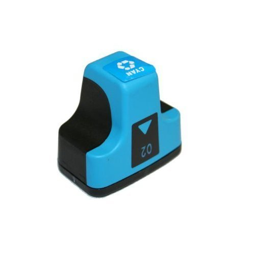 HI-VISION HI-YIELDS ® Compatible Ink Cartridge Replacement for HP 02 (Cyan)