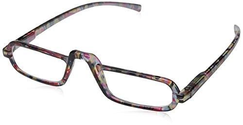 Peepers Mosaic Rectangular Reading Glasses,Yellow,+2.5