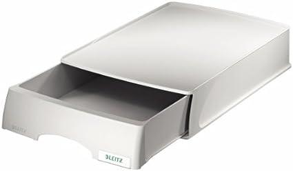 Leitz Bandeja-cajón Plus, A4, Gris, 52100085